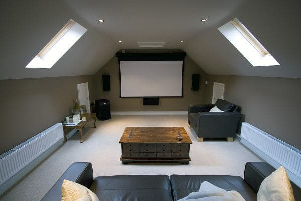 tv / games room